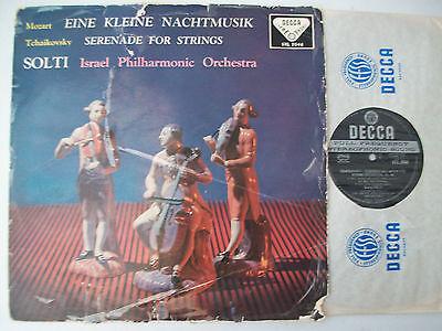 Mozart Eine kleine Nachtmusik Tchaikovsky Serenade Israel Philharmonic Solti WBg