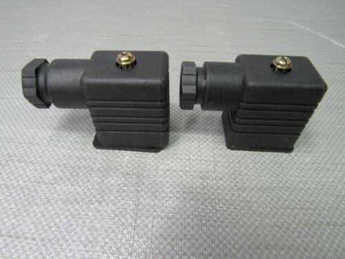 Hirschmann Solenoid Connector Type B Lot of 2