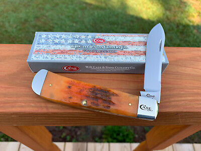 CASE XX BACKPOCKET KNIFE AUTUMN DEEP CANYON BONE TONY BOSE w/BOX UNUSED 2019