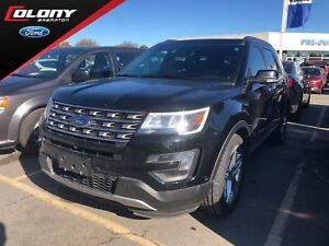 2016 Ford Explorer Limited | 4WD | Leather | Roof | Trailer Tow