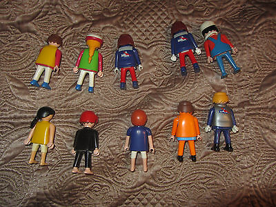 lot of 10 playmobil figures toys
