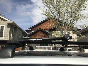 Roof top sport bike racks (for tow bikes)