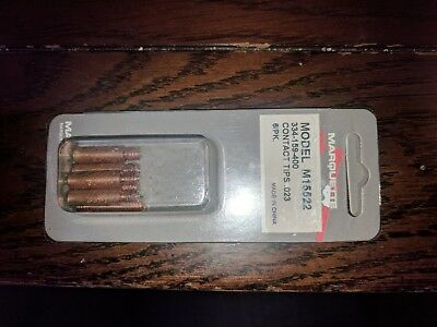 Six 6 .023 M15522 Marquette Mig Welder Contact Tips 334-159-400