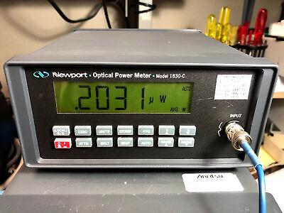 Newport 1830-c Laser Optical Power Meter Tested Working