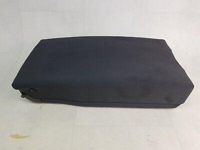 AUDI A6 C6 4F 04-11 REAR CENTRE SEAT BLACK CLOTH ARM REST STORAGE COMPARTMENT