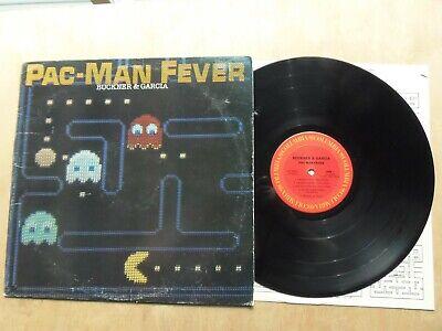 """Buckner & Garcia PAC-MAN FEVER 12"""" LP Album 1982 CBS # RC-37941"""