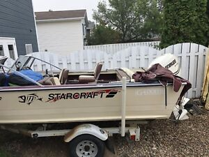 Starcraft boat and trailer for sale