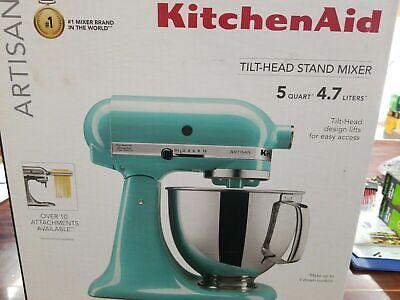 *Brand New* KitchenAid KSM150PSAQ 5 Quart 325W Stand Mixer - Aqua Sky Blue