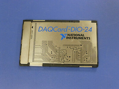 National Instruments Daqcard-dio-24 Pcmcia Ni Daq Card Digitial Io