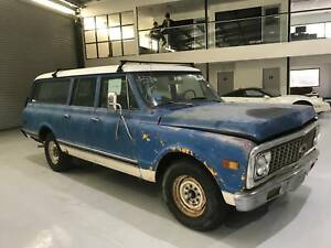 1971 Chevrolet Suburban Big Block Wagon Pooraka Salisbury Area Preview