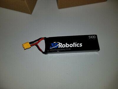 2X 3DR 3D Robotics 5100mAh LiPo Battery for IRIS+ Remote Control Quadcopter 3S