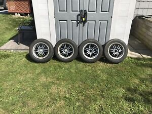 """195/65/15 tires on """"fast wheels"""" rims"""