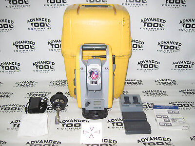 Trimble S6 Dr 300 Plus 5 Robotic Total Station W Prism Charger Case 2.4ghz
