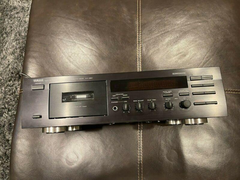 Yamaha - KX-380 - Natural Sound Stereo Cassette Deck Recorder, Dolby HX Pro