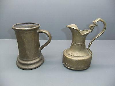 Mug + Jug Made of Solid Brass - 3 KG