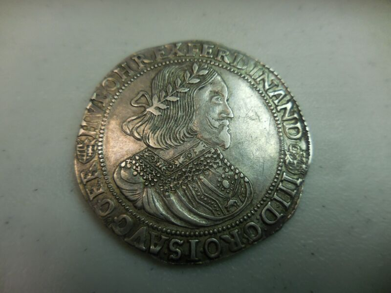 1657-B THALER HUNGARY FERDINAND COIN