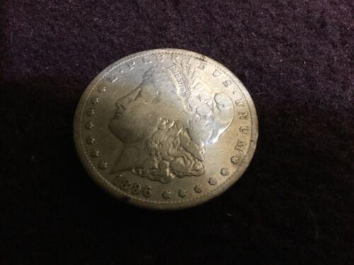 1896 S Morgan Silver Dollar nice coin uncertified