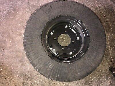 Bush Hog Tail Wheel Solid 5 Hole Center Laminated Wheel 5-12x20 Diameter