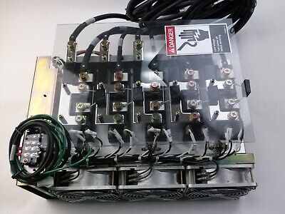 Tel Tokyo Electron Thyr-c4300lsz2c Utility Box Power Pack Assembly Used