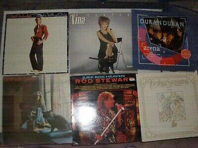 20 Records, Vinyl Lps 70s 80s 90s Rock and Pop LOT 24