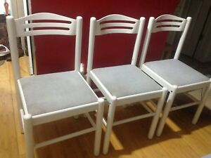 Three CHAIRS (Made in Italy)