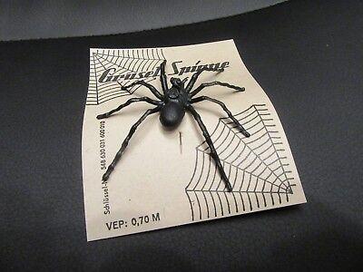 Spinne-SPIDER-Gruselspinne-Halloween-Deko-Halloweenparty-original DDR