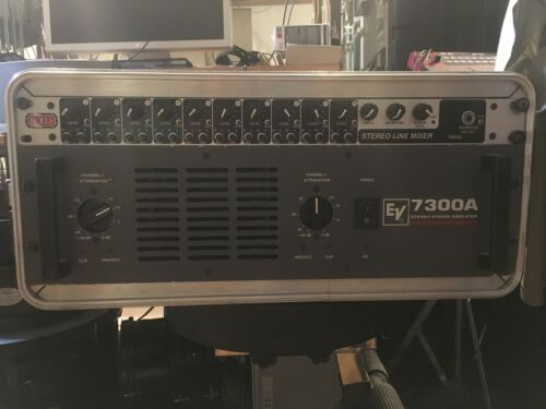 Electrovoice EV 7300A Stereo Power Amp 600 Watt Amplifier - $179.00