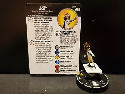 Heroclix DC Justice League Unlimited: Ace Super Rare #058 w/card