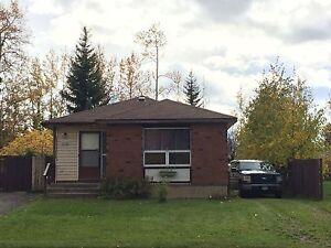 House for rent in Tumbler Ridge