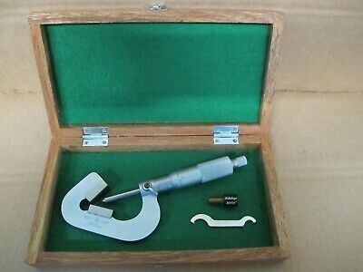 Mitutoyo No. 114-202 V Anvil Micrometer .093 - 1