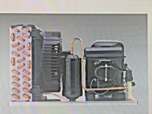 Tecumseh Refrigeration Condensing Unit, 1/3 HP, Air Cooled, Receiver Tank, 115V