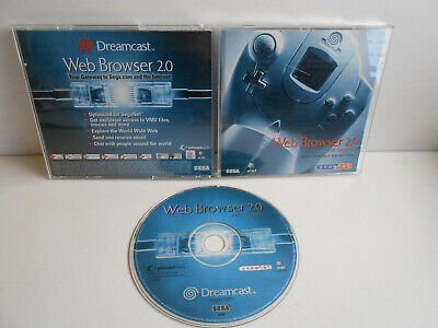 Web Browser 2.0 für Sega Dreamcast