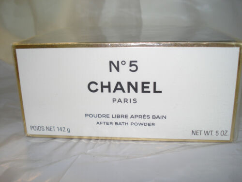 CHANEL No 5  after powder 5 OZ  SEALED BOX