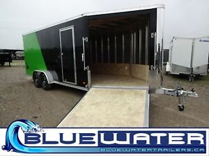 2019 Bravo Trailers Aluminum 7 x 24 Snowmobile Trailer - 7' x 24