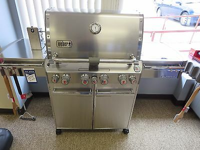 Weber SUMMIT S-470 LP GAS GRILL 7170001 New in Box...