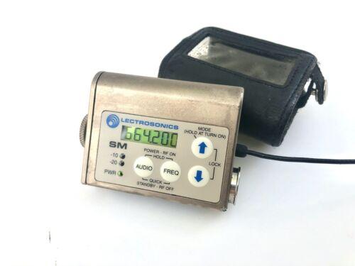 Lectrosonics SM Transmitter - Block 25 640.0-665.5 MHz. SUMMER PRICING!!