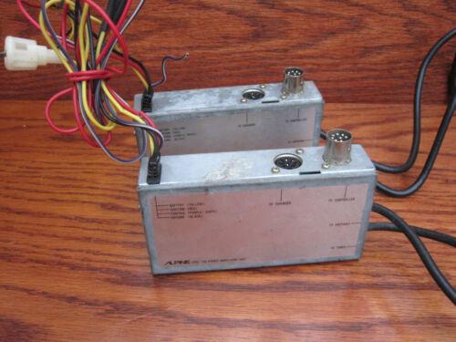 Alpine 1200 FM stereo Modulator unit. Changer control unit. x2