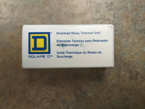 NOS Square D Overload Relay Thermal Unit B4.85 1045 Lot 3
