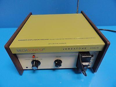 Medasonics Versatone D8 Opt 1 Doppler Ultrasound W P82 P83 Probes 11530