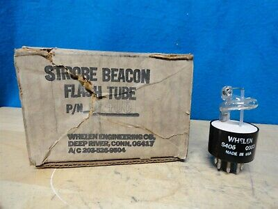 Strobe Beacon - Flash Tube - Part Number S-406 - Whelen 0983 - New In The Box
