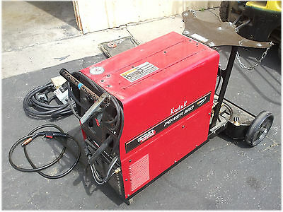 Lincoln Electric Power MIG 200 Welder Welding Machine