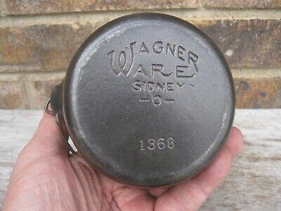 Wagner Ware Sidney HOT POT 1368 Cast Iron Salesman Sample