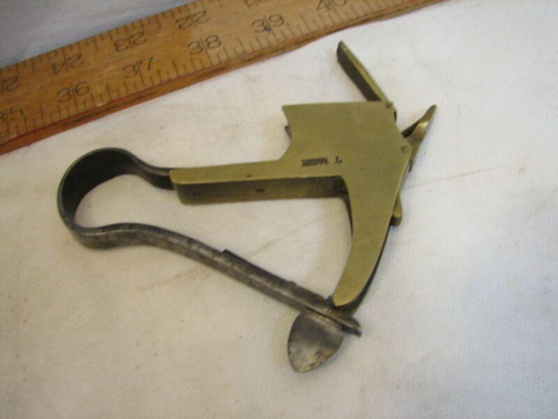 Antique Fleam Surgeon Tool Fleam Bleeder Quack Medical Blood Letter Scarificator