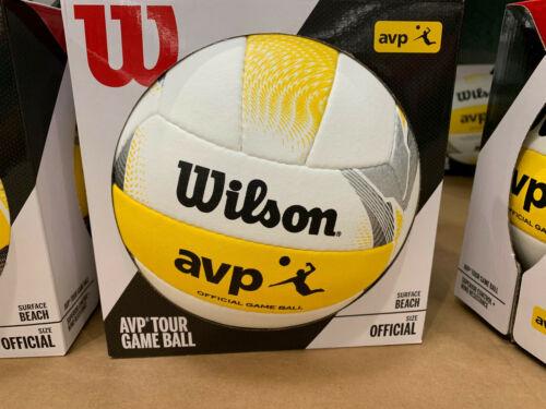 Wilson AVP II Official Beach Volleyball Outdoor Volleyball, New