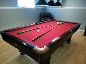 SOLD Quality pool table for sale