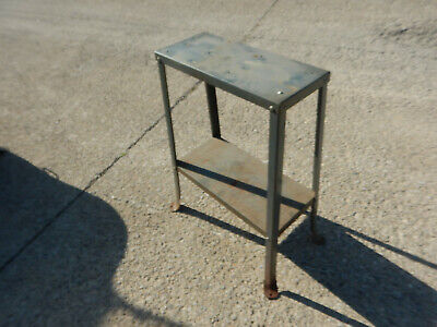 Older Flared Leg Steel Machine Stand Base