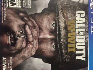 Call of duty WW 2 for PS4