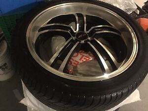 20 MSR RIMS WITH RUBBER AND 4 spacers