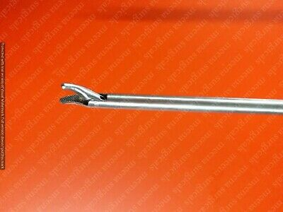 Storz-type Needle Holder Curved Jaw 5mmx330mm Laparoscopic Surgical Instruments