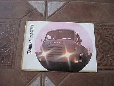 ROOTES COMMER KARRIER PULL OUT RANGE BROCHURE/POSTER 1968 RARE ITEM
